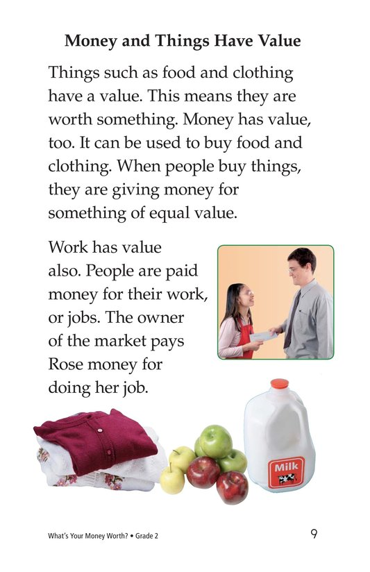 Book Preview For What's Your Money Worth? Page 9