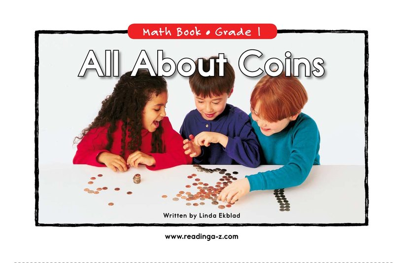 Book Preview For All About Coins Page 0