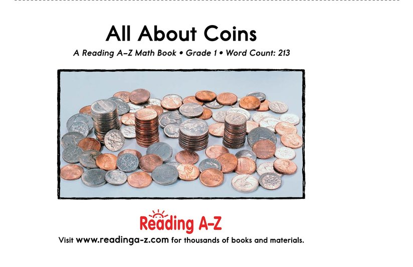 Book Preview For All About Coins Page 17