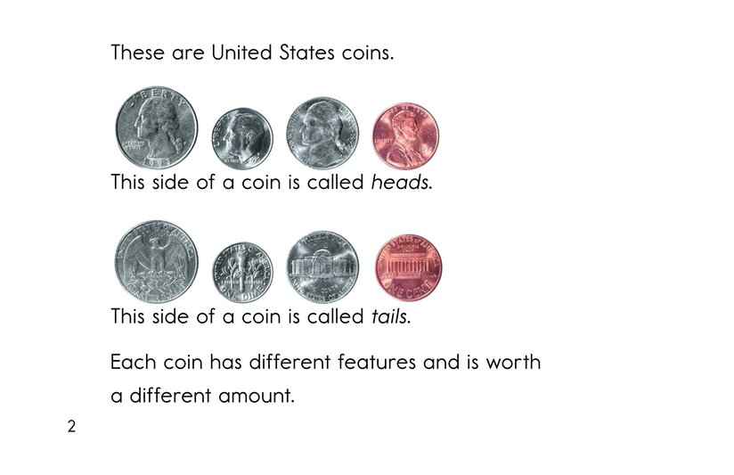 Book Preview For All About Coins Page 2