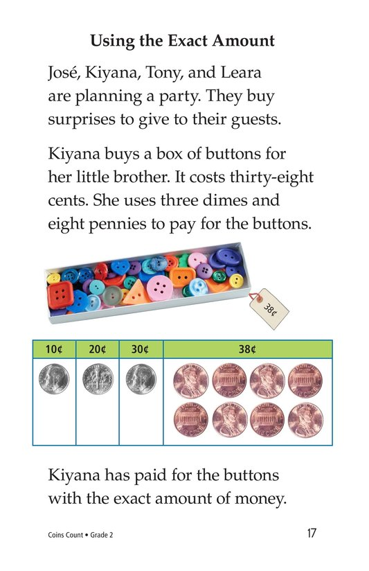 Book Preview For Coins Count Page 17