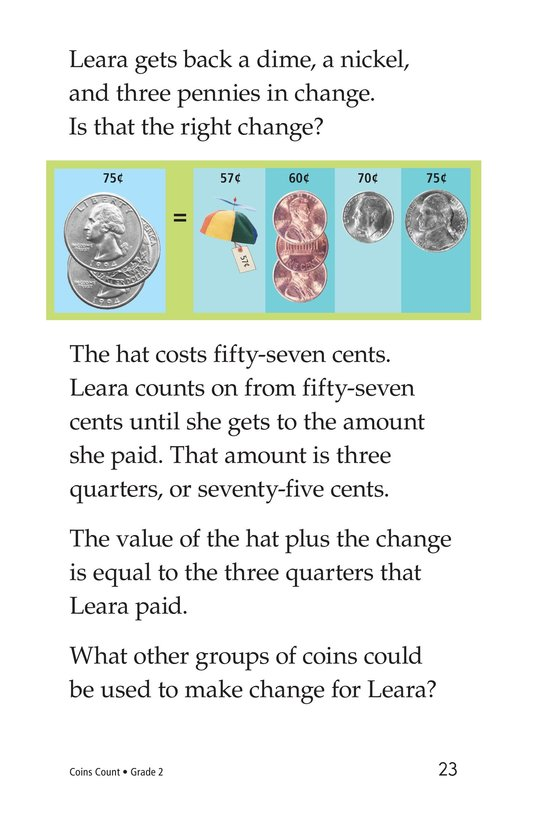 Book Preview For Coins Count Page 23