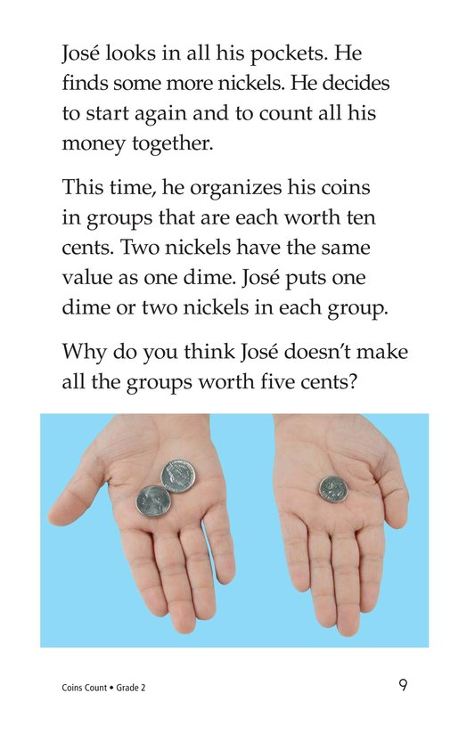 Book Preview For Coins Count Page 9