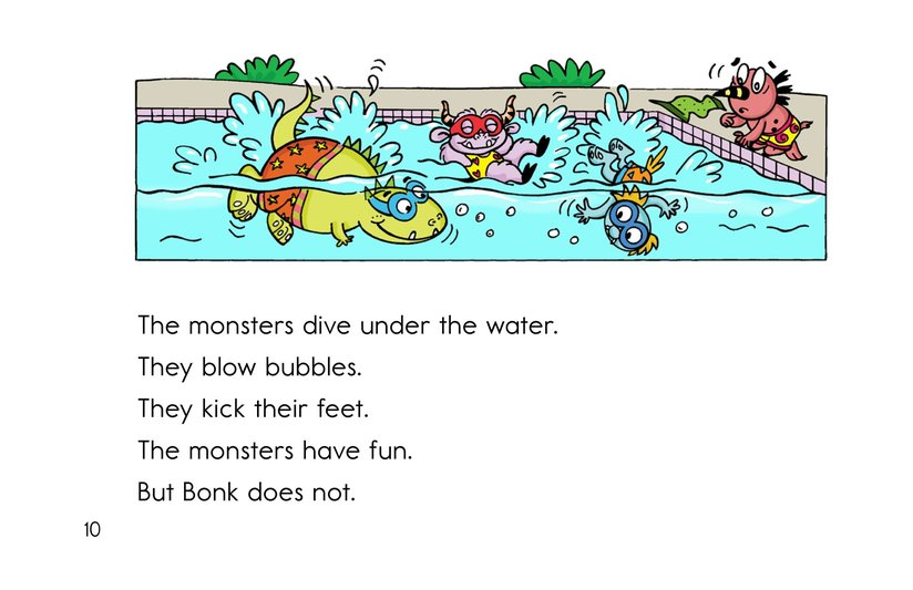 Book Preview For Bonk and the Big Splash Page 10