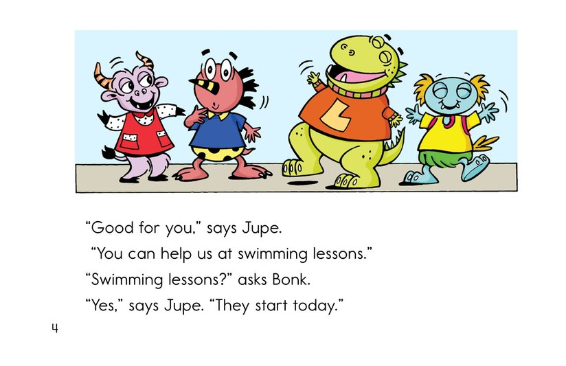 Book Preview For Bonk and the Big Splash Page 4