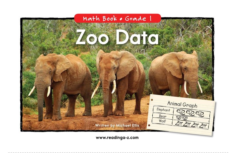 Book Preview For Zoo Data Page 0