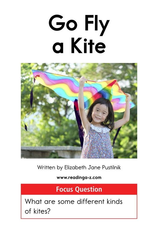 Book Preview For Go Fly a Kite Page 1