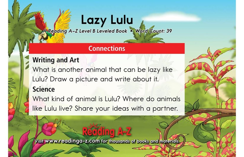 Book Preview For Lazy Lulu Page 11