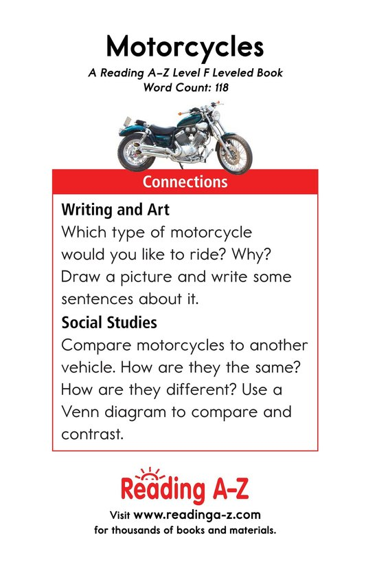 Book Preview For Motorcycles Page 13