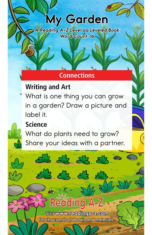 Book Preview For My Garden Page 11