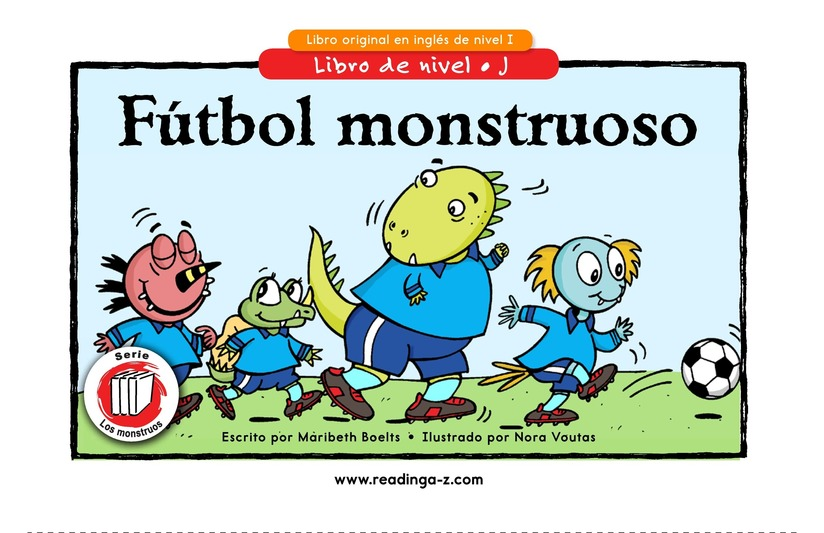 Book Preview For Monster Soccer Page 1