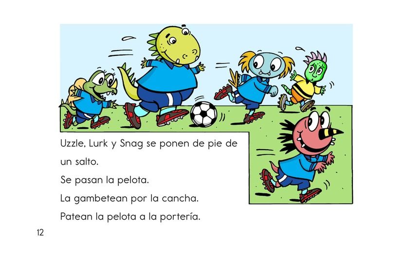 Book Preview For Monster Soccer Page 12