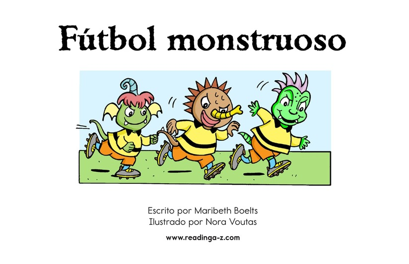 Book Preview For Monster Soccer Page 2