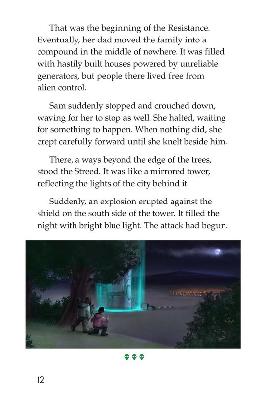 Book Preview For Alien Collective I: Resistance Page 12