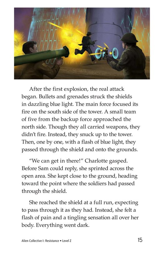 Book Preview For Alien Collective I: Resistance Page 15