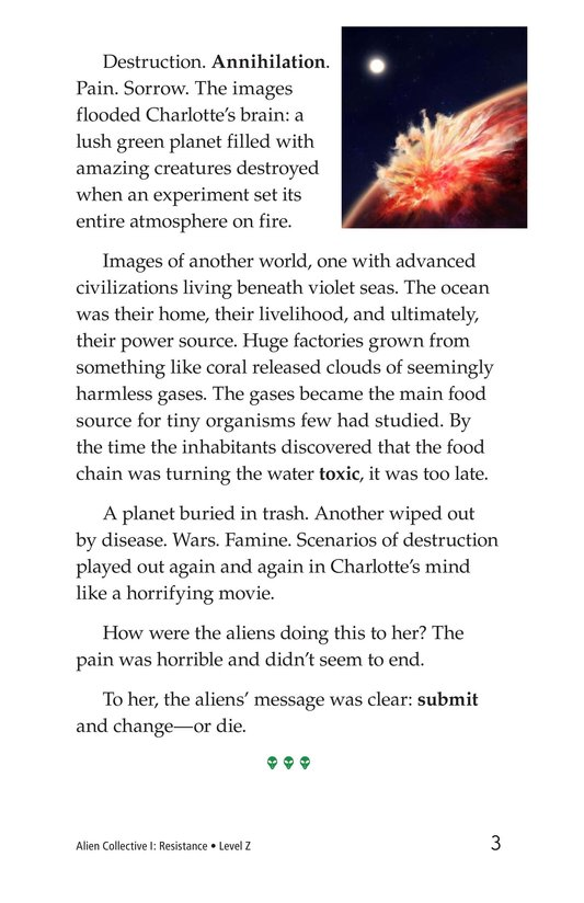Book Preview For Alien Collective I: Resistance Page 3