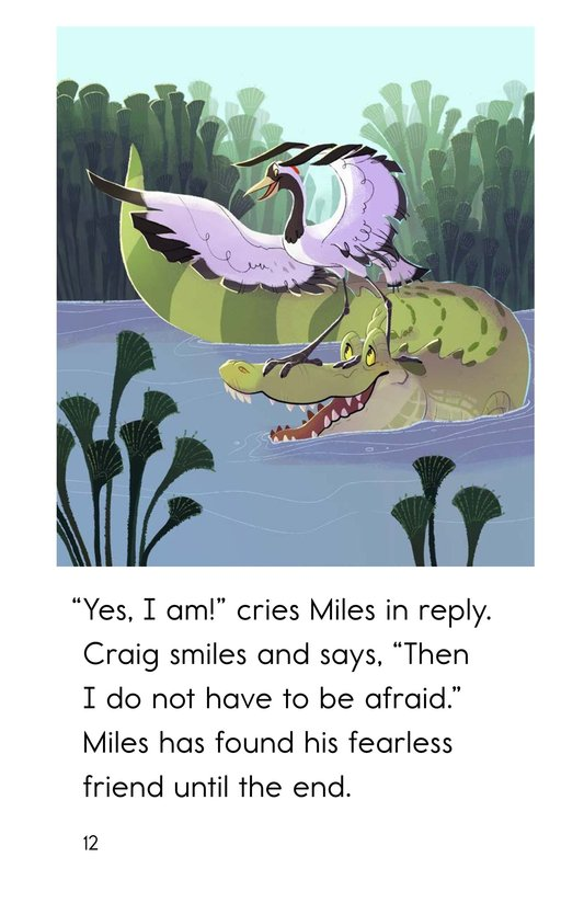 Book Preview For Miles the Nile Crocodile Page 12