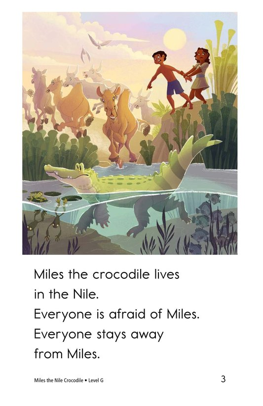 Book Preview For Miles the Nile Crocodile Page 3