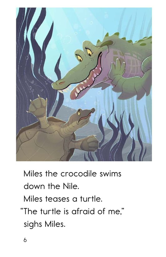 Book Preview For Miles the Nile Crocodile Page 6