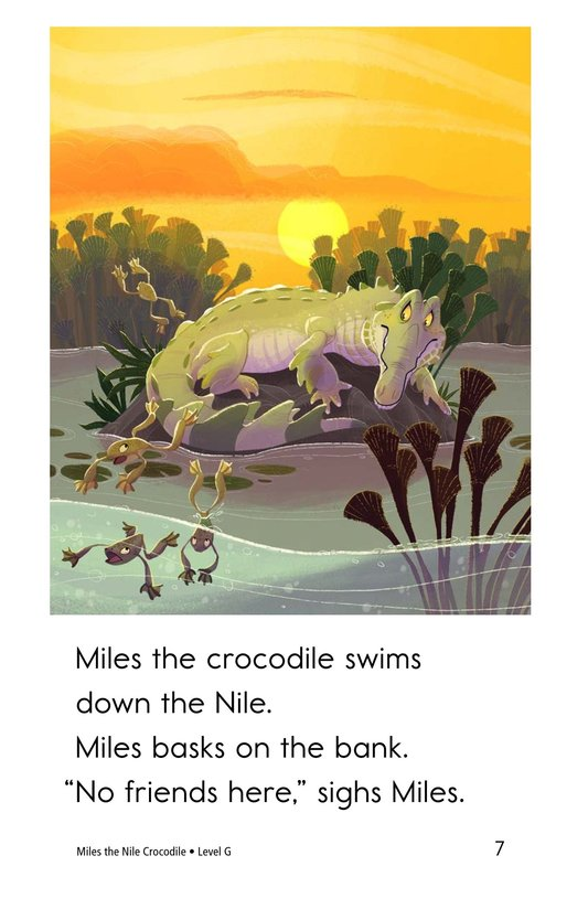 Book Preview For Miles the Nile Crocodile Page 7