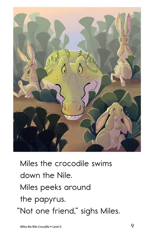 Book Preview For Miles the Nile Crocodile Page 9