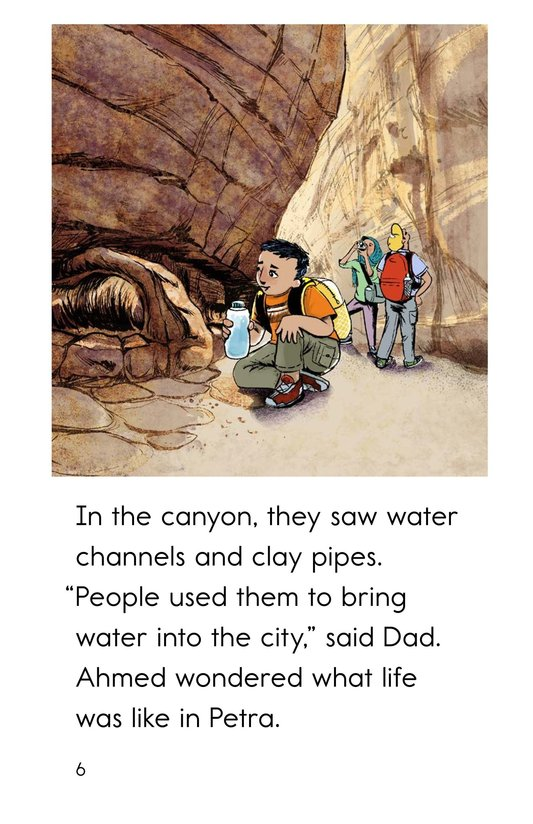 Book Preview For A Trip to Petra Page 6