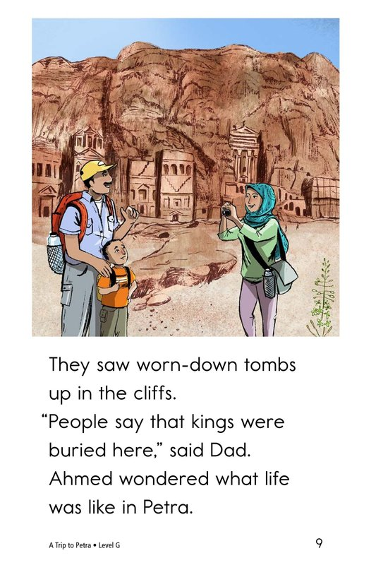 Book Preview For A Trip to Petra Page 9