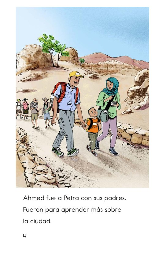 Book Preview For A Trip to Petra Page 4
