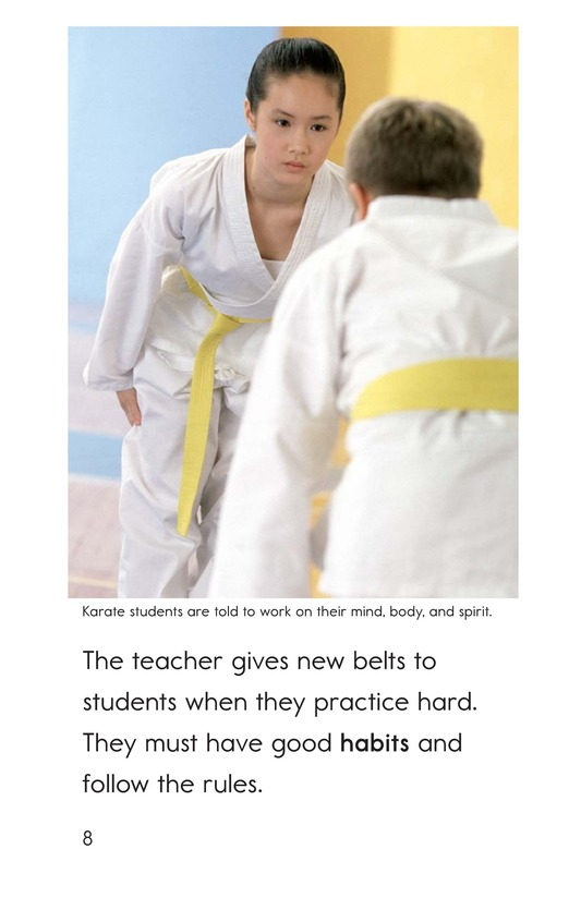 Book Preview For Karate Page 8