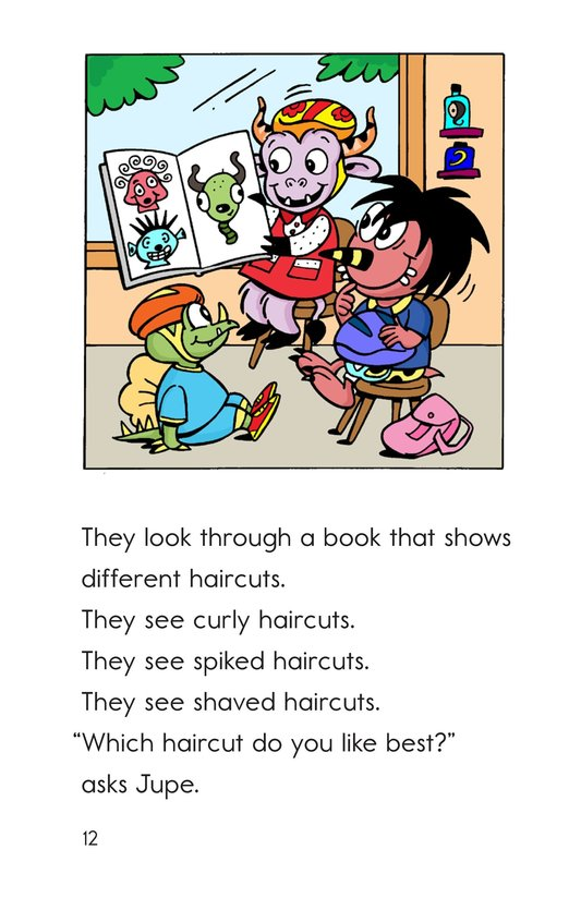 Book Preview For Bonk at the Barbershop Page 12
