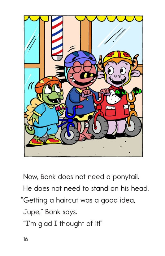 Book Preview For Bonk at the Barbershop Page 16