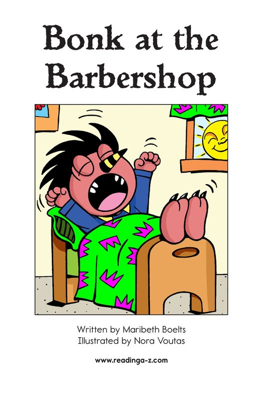 Book Preview For Bonk at the Barbershop Page 2