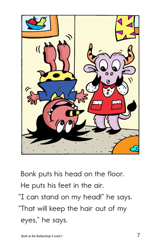 Book Preview For Bonk at the Barbershop Page 7