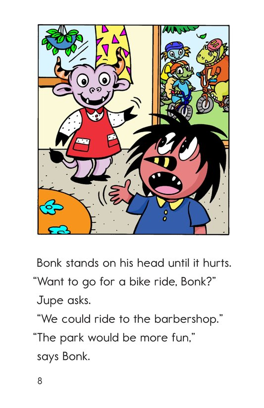 Book Preview For Bonk at the Barbershop Page 8