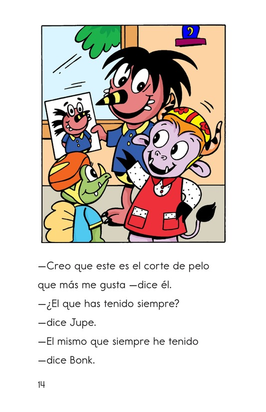 Book Preview For Bonk at the Barbershop Page 14