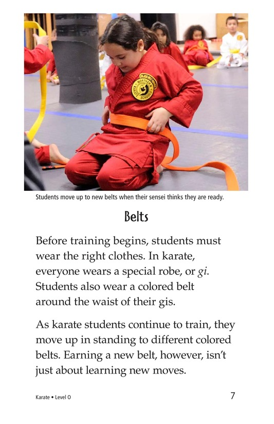 Book Preview For Karate Page 7