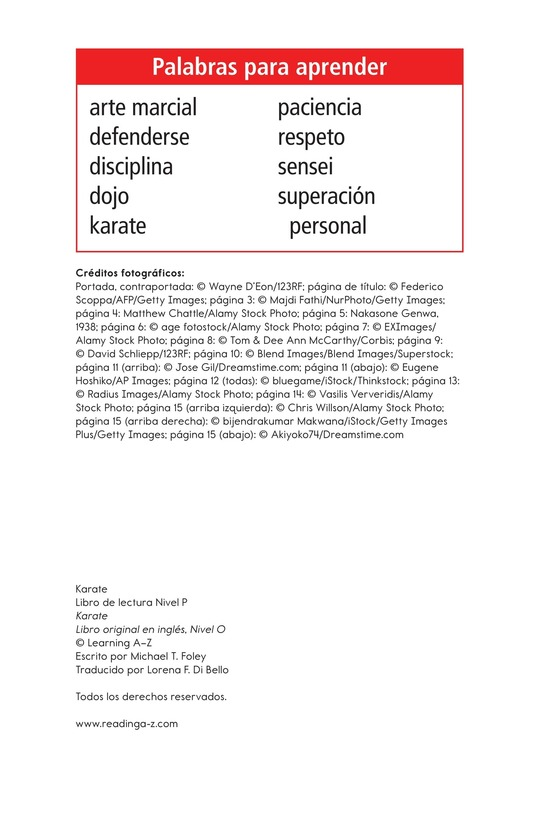Book Preview For Karate Page 2
