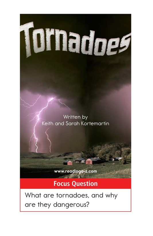 Book Preview For Tornadoes Page 1