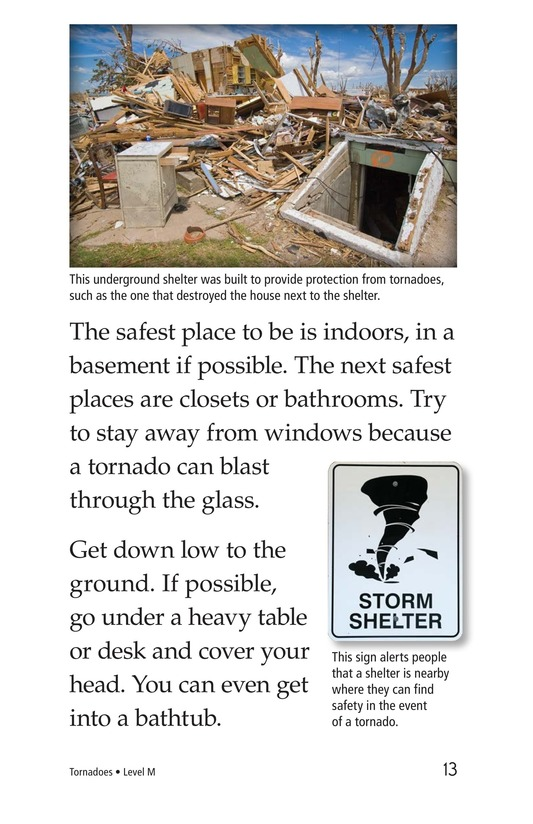 Book Preview For Tornadoes Page 13