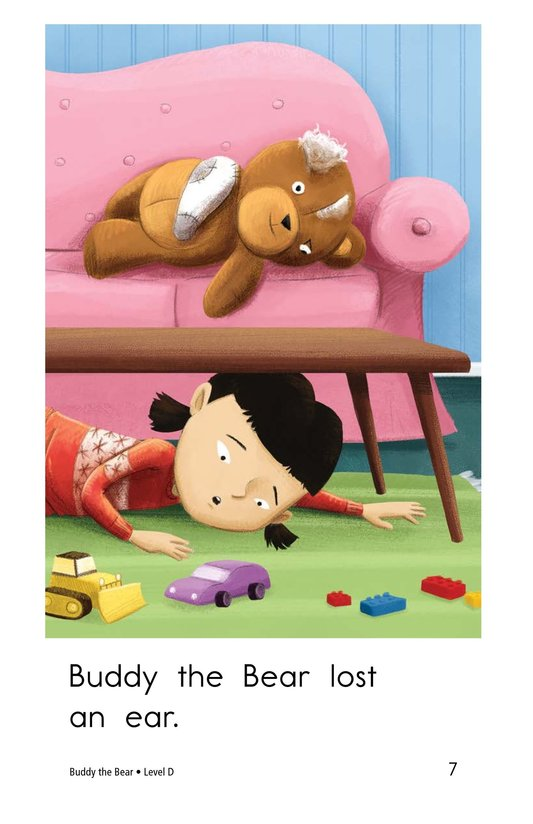 Book Preview For Buddy the Bear Page 7