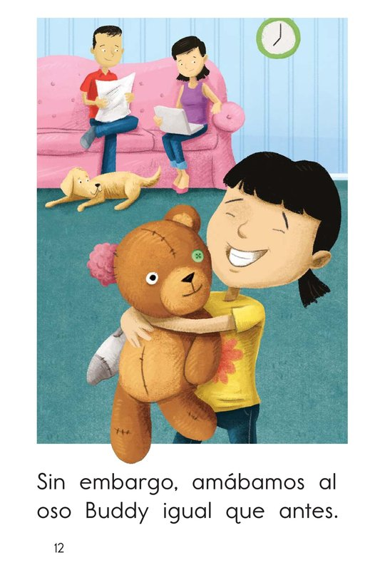 Book Preview For Buddy the Bear Page 12