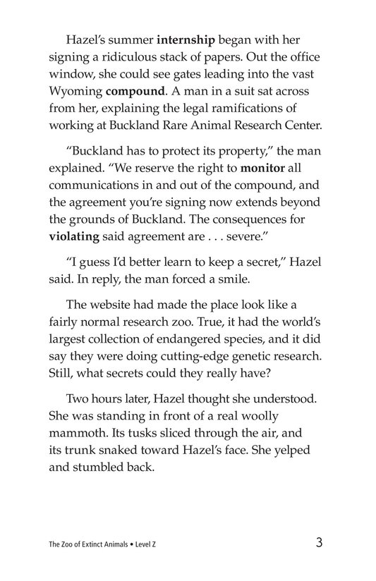 Book Preview For The Zoo of Extinct Animals Page 3