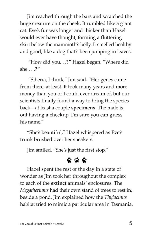 Book Preview For The Zoo of Extinct Animals Page 5