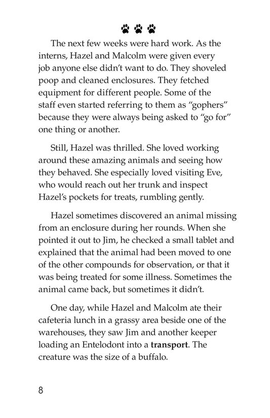 Book Preview For The Zoo of Extinct Animals Page 8