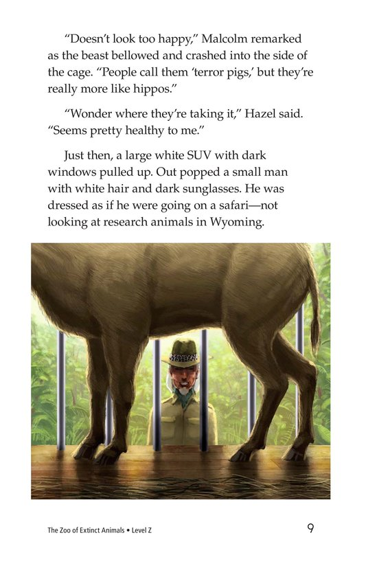 Book Preview For The Zoo of Extinct Animals Page 9