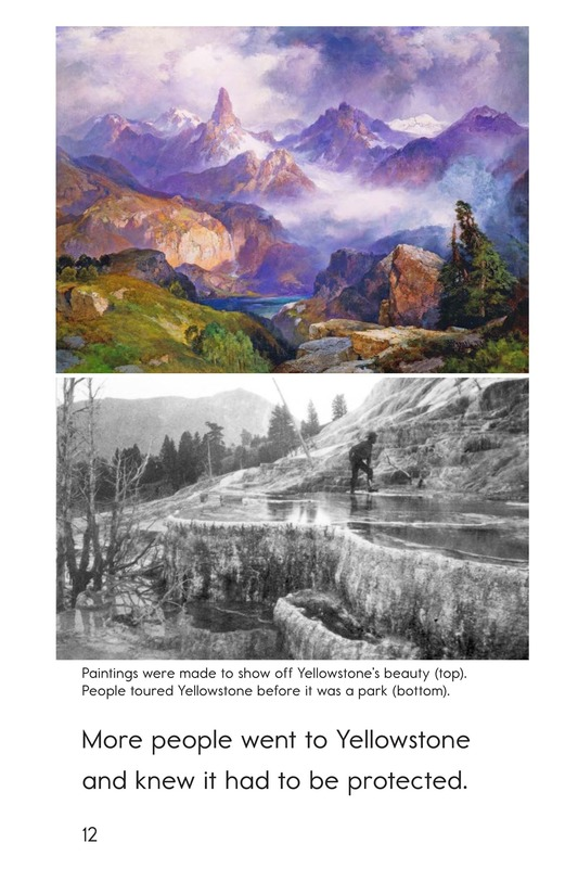 Book Preview For Yellowstone: A Place of Wild Wonders Page 12