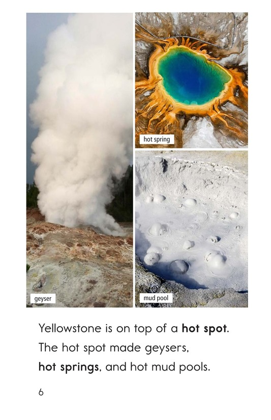 Book Preview For Yellowstone: A Place of Wild Wonders Page 6