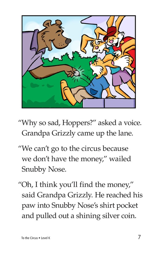 Book Preview For To the Circus Page 7