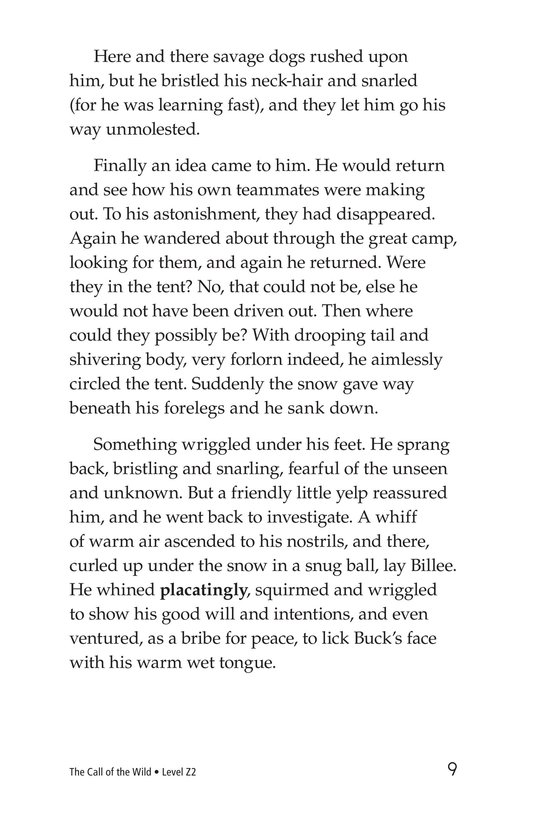 Book Preview For The Call of the Wild (Part 2) Page 9