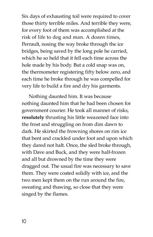 Book Preview For The Call of the Wild (Part 3) Page 10